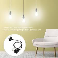 Light Bulb Lamp Shade Holder Details About E26 27 Industrial Hanging Ceiling Pendant Light Bulb Base Holder Lamp Shade Diy