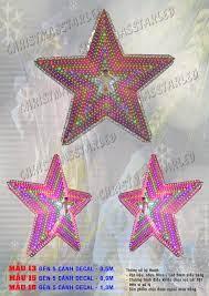 Đèn ngôi sao trang trí giáng sinh Mẫu 16.