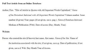 Mla Format Reference Page Citing Web Google Search