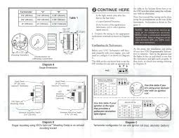 autometer pro comp tach wiring diagram for alluring tachometer autometer shift light instructions at Autometer Pro Comp Tach Wiring Diagram
