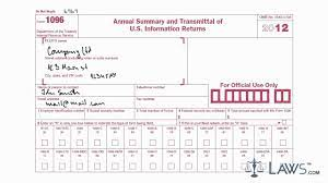 Information returns and is used to provide the irs. Learn How To Fill The Form 1096 Annual Summary And Transmittal Of U S Information Return Youtube