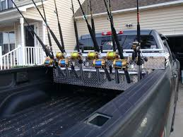 fishing pole holder for truck bed osseo