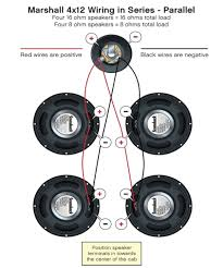 wiring a 4 x 12 speaker cabinet wiring diagrams second