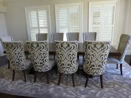 Cushioned Dining Room Chairs Skilful Image Of Matching Living And