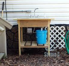 outdoor spigot sink build an outdoor sink and connect it to the outdoor spigot outdoor sink