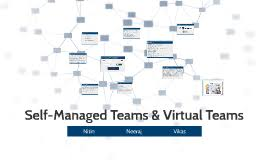 self managed teams self managed team virtual team by nitin prayag on prezi