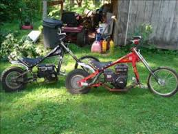occ chopper minibikes from walmart youtube