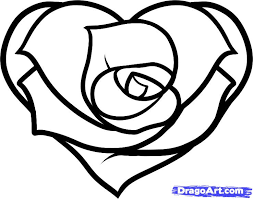 Easy To Draw Roses Free Drawings Of Easy Hearts Download Free Clip Art Free Clip Art