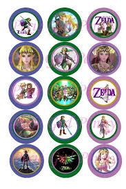 details about 15 precut legend of zelda princess w link game theme 1 bottle cap images