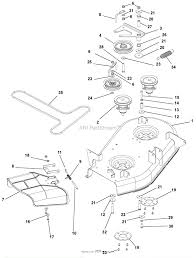 Ariens zoom 34 parts diagram for