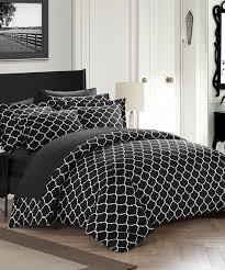 love this product black trellis ca reversible duvet cover set