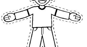 Flat Stanley Coloring Page Other Pages Color Pdf Openonline Co
