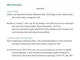 005 How Write References In Apa Format Samplereferencelist Works