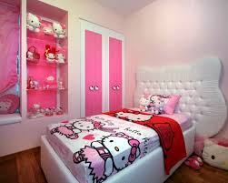 bedroom design for young girls. Awful Hello Kitty Bedroom Decoration For Young Girls Ideas Teen Room Designs Teenage Winnie Wallpaper Design O
