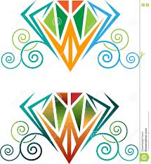 Diamond Designs Diamond Designs Stock Vector Illustration Of Swirl Curve