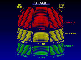 Gershwin Seating Chart 51 Systematic Lyric Theater Nyc Seating View