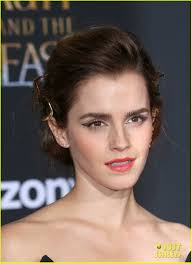 Emma Watson Hair Style emma watsons hair at beauty & the beast la premiere made a 4850 by wearticles.com