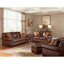 leather couch living room. Piedmont 4-piece Top Grain Leather Living Room Set Leather Couch Living Room