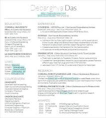 Latex Resume Template New Latex Resume Template Phd Best Latex