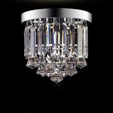 lighting flush mounts chandeliers crystal led mini style traditional classic hallway crystal img 1