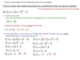 v 1 3 find the coordinates of two additional points on