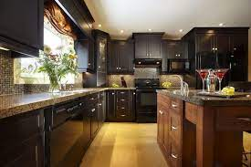20 Stunning Black Kitchen Cabinets Traditional Kitchen Design Modern Kitchen Paint Kitchen Cabinet Design