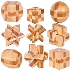 wooden children kong ming lock toys round ball cube lu ban lock pa child interaction physical beneficial wisdom toys