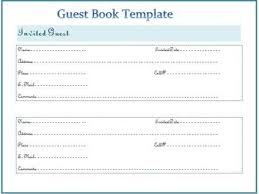 Wedding Guest Book Template Image Result For Personalized Wedding Guest Book Template Weddings
