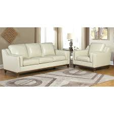 abbyson living 2 piece top grain leather sofa set in broadway reviews abbyson living 3 piece top grain leather reclining room sofa
