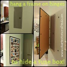 17 best ideas about electrical fuse electric box how to hide a fuse box by hanging