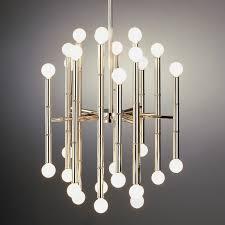 lighting stunning jonathan adler chandelier 3 modern