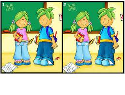 مسابقة الاختلاف الصورتين السؤال الثاني