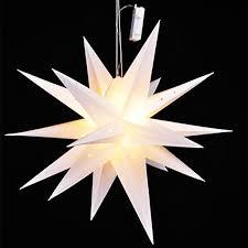 Led Weihnachtsstern Weiß ø 58cm Real