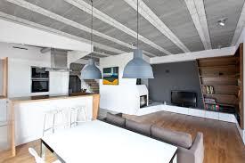 Smart design furniture Small Townhouse Freshomecom Modern Polish House Couples Smart Design With Scandinavian Minimalism