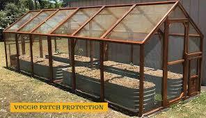 garden enclosure. Garden House Vegetable Enclosure; Enclosure B