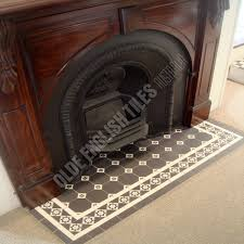 Decorative Hearth Tiles Tessalated tiles could be pretty Sourced from Olde English Tiles 8