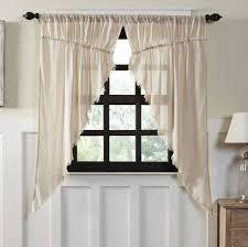 cloth prairie curtain fringed set of