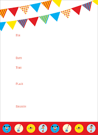 Blank Party Invitations Blank Party Invitations For Party Invitation