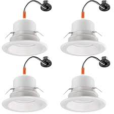 Commercial Electric 4 In Multi Lumens And Color Selectable