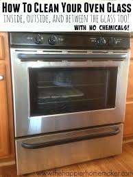 kenmore oven glass door replacement easy step by step tutorial showing how to clean oven glass
