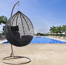 outdoor egg swing chair egg chair cushion only pod swing chair hanging wicker chairs for wicker swing chair indoor