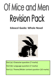edexcel gcse english of mice men revision pack by ashleymarie edexcel gcse english of mice men revision pack by ashleymarie teaching resources tes