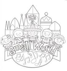 Small Picture Magic Kingdom coloring page Color me happy Pinterest Walt