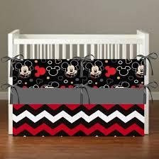 mickey mouse crib bedding nursery
