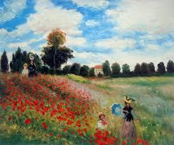 poppy field in argenteuil