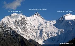 Гора Белуха Трехглавая священная гора Горного Алтая