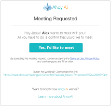 you are alerted that meeting invites have been sent meeting invites sent