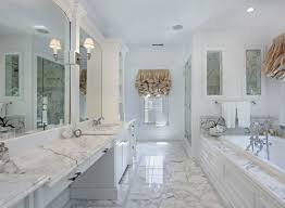 bathroom designs. White-Carrera-Marble-Bathroom-Countertop-3 Bathroom Designs N