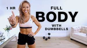 1 hour full body dumbbell workout at