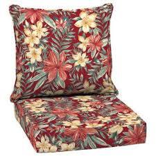 24 x 24 ruby clarissa tropical 2 piece deep seating outdoor lounge chair cushion